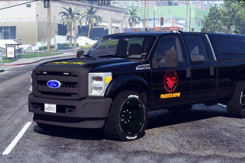 Indonesian Police Team Jaguar Livery for Ford F350