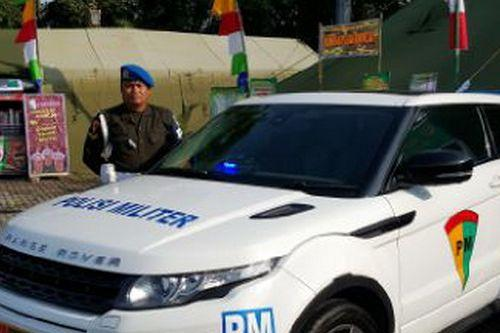 Indonesian Police Military Livery  For Range Rover Evoque Police