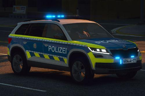 Skoda Kodiaq - Polizei Nordrhein-Westfalen Paintjob