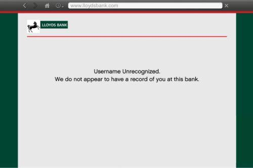 Lloyds Bank Website Pages
