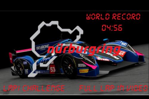 (LMP1 CHALLENGE) World Record Handling for RWDP30 LMP1 at NordSchleife