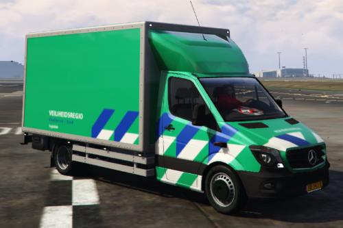 Logistiek Sprinter Facelift Veiligheidsregio [OOV Striping] [Dutch]