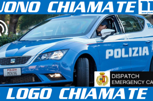 Suoni e Logo di notifica delle chiamate - Polizia di Stato 113