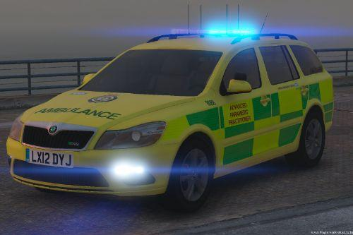 London Ambulance Service Skoda Octavia