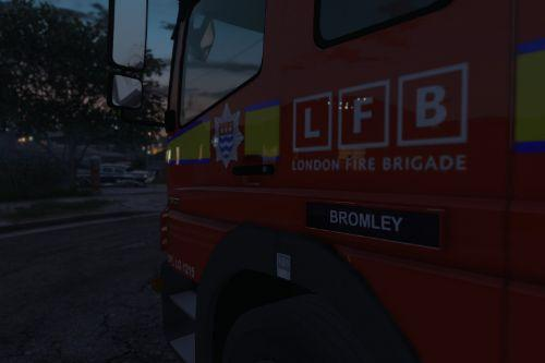 London Fire Brigade MK1/MK2 Atego Pack