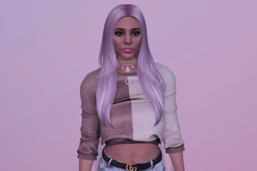 Long hairstyle for MP Female