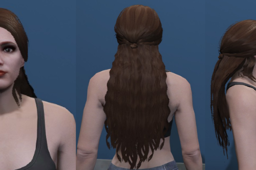 Long Wavy Hair - Custom haircut for MP Female [SP / FiveM]