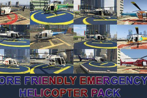 Lore Friendly Emergency Helicopter Pack