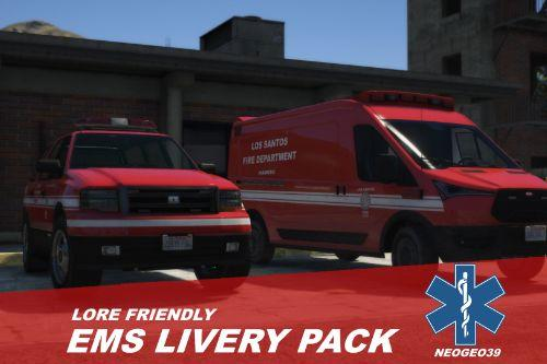 Lore Friendly EMS Livery Pack
