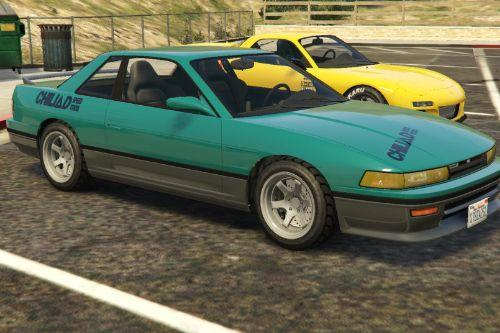 Lore Friendly Initial D liveries for ZR350 and Remus