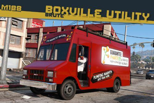 Lore-Friendly Liveries for Brute Boxville Utility [Add-On | Replace | Liveries]