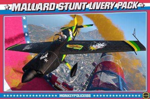 Lore-Friendly Liveries for Western Mallard Stunt Plane [Replace | Liveries | Template]
