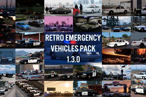 Retro Emergency Vehicles Pack