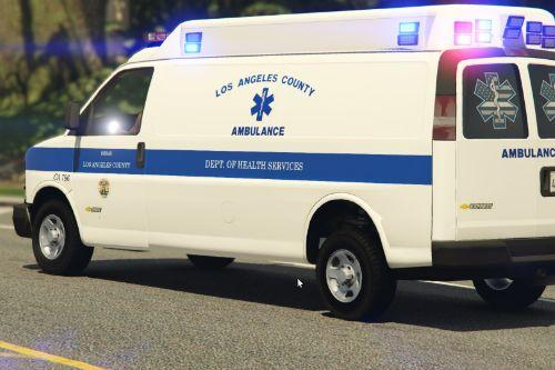Los angeles County Ambulance