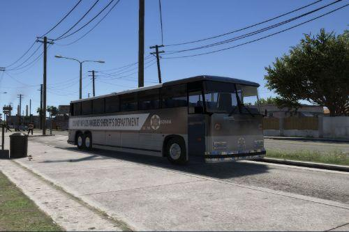 Los Angeles County Prison bus