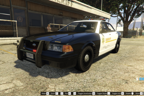 Los Angeles County Sheriff  (LASD) - Texture for IlayArye's Stanier