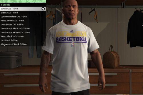 Los Angeles Lakers practice shirt for Franklin