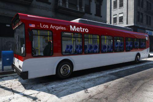 Los Angeles Metro City Bus Livery