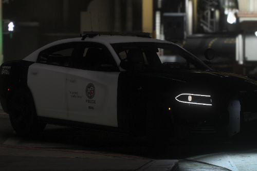Los Angeles Police Department 2018 Dodge Charger