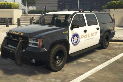 Los Angeles Police Department [LAPD] SUV | Vanilla Edit/Paint |