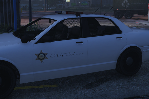 Los Angeles Sheriff Car