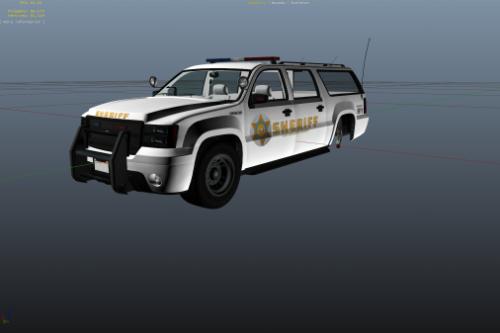 Los Angeles Sheriff SUV