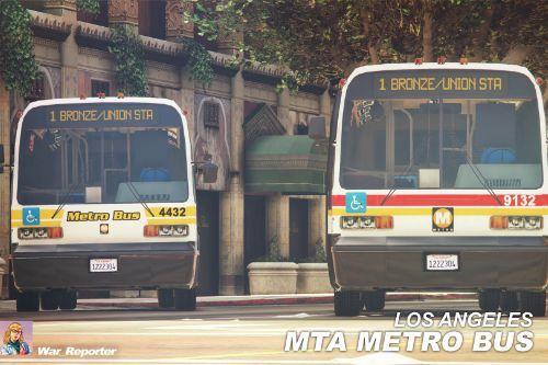 Los Angeles MTA Metro Bus GMC RTS [Skin]