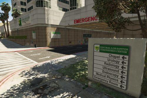 Los Santos Coronavirus Center Retexture