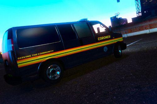 Los Santos Coroner Van 4K (Fictional)