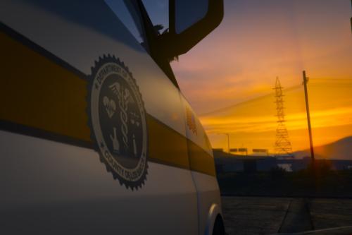 Los Santos Coroner Van 4K (Lake County Inspired)