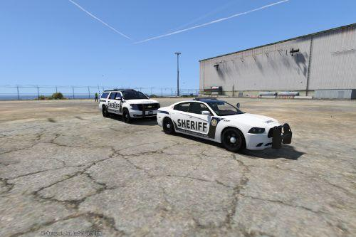 Los Santos County Sheriff Skins For Dodge Charger and Suburban
