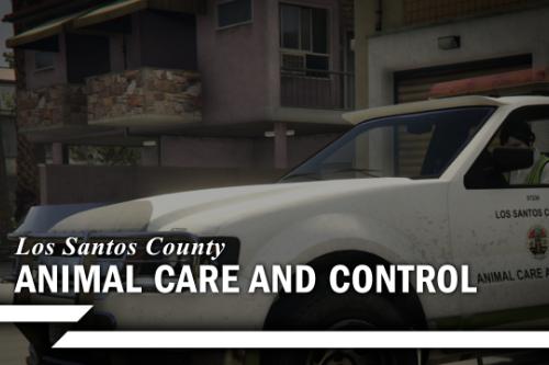 Los Santos County Animal Control Utility Truck [Add-on]