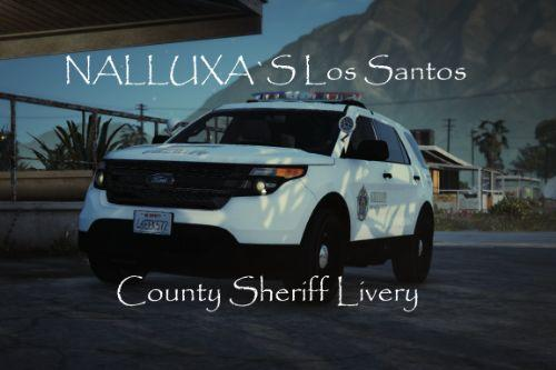 Los Santos County Sheriff Ford Explorer Livery