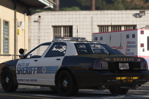 Los Santos County Sheriff's Department Contract Liveries Pack [Lore Friendly]