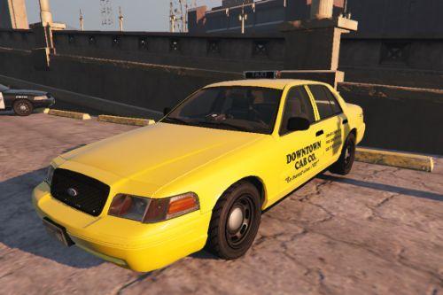 Los Santos Ford Crown Victoria Taxi Texture