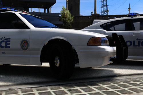 Los Santos General Services Police - Skin Pack