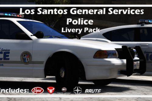 Los Santos General Services Police - Vehicle Liveries