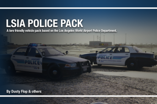 Los Santos International Airport Police | LSIAPD [Add-on]