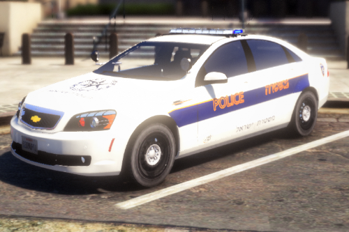 Israel Police Chevrolet Caprice PPV [Livery]