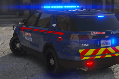 Los Santos Police Department - Lore Friendly Livery Pack | (Atlanta PD Based)