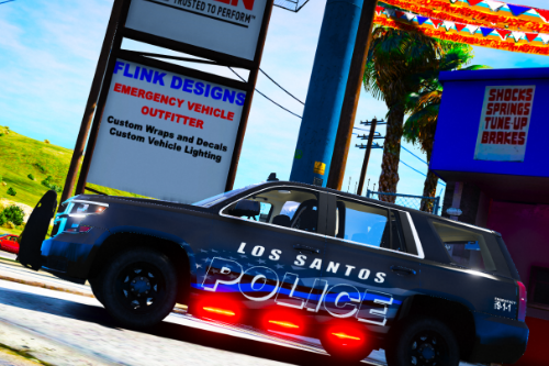 Los Santos Police Department Thin Blue Line