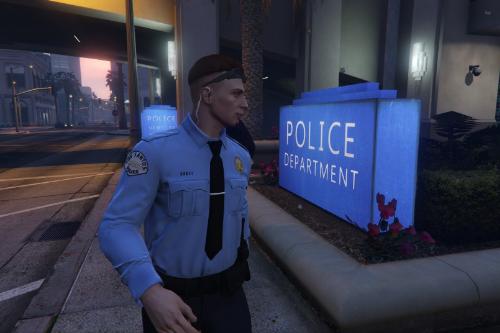 Los Santos Police Dept. Cadet Program Uniform [EUP | TEXTURE ONLY]