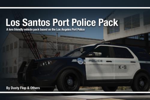 Los Santos Port Police Pack [Add-On]