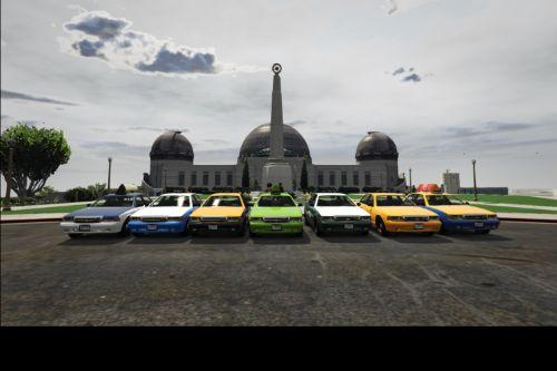 Los Santos Realistic Taxis (LSRT), the realistic cabs [OpenIV]