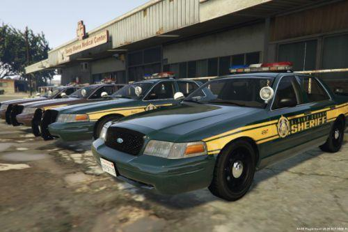 2x Sheriff Department Skins - LSSD & BCSD
