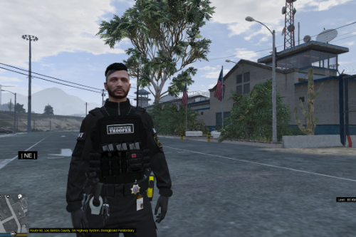 Los Santos State Trooper(LSST) BULLETPROOF VEST