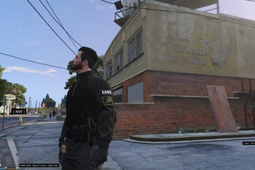Los Santos State Trooper(LSST) sweatshirt