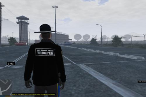 Los Santos State Trooper(LSST) Winter jacket