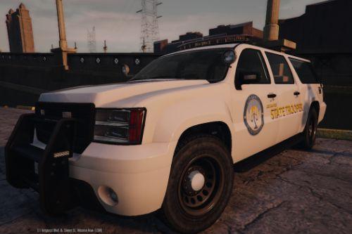 Los Santos State Trooper SUV Arjent