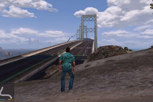 Los Santos To Vice City Remastered Bridge